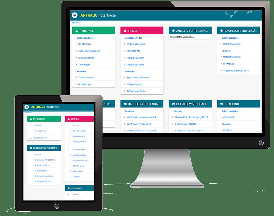 ANTRAGO smart Screen Desktop+Tablet