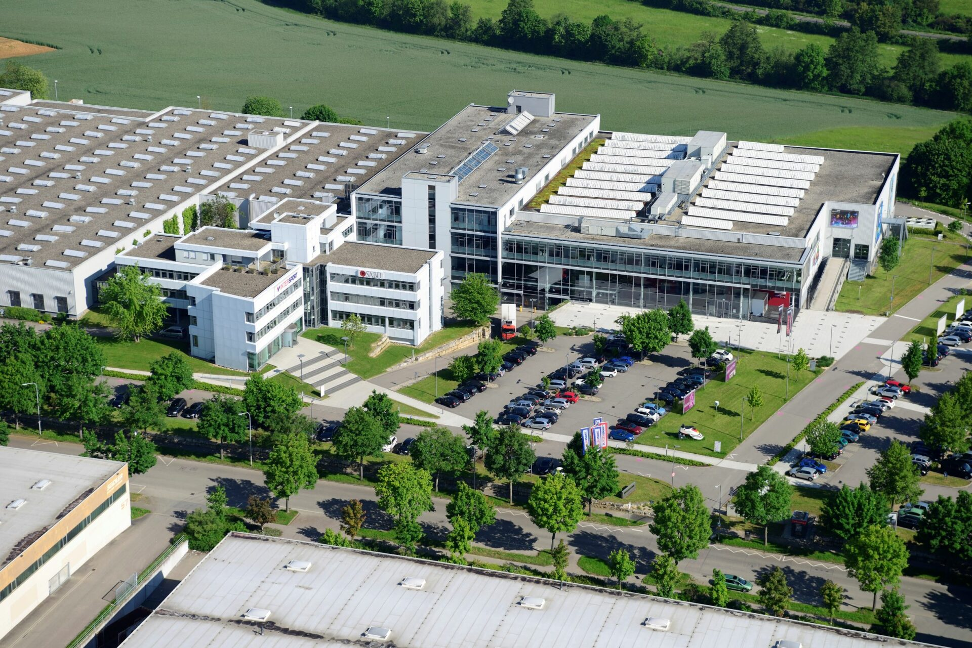 Firmenzentrale INTERSPORT in Heilbronn