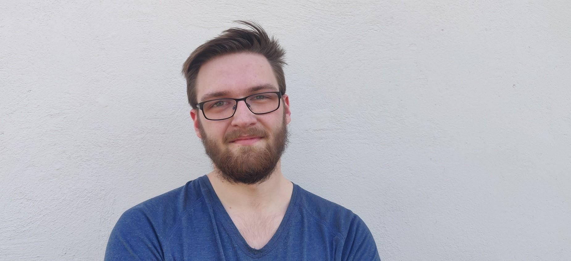 Porträt Jan von Sondern, Auszubildender bei der RR Software GmbH
