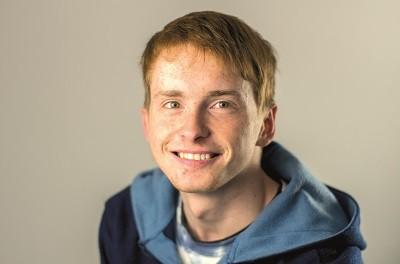 Porträt Patrick Rahn, Auszubildender Informatikkaufmann