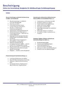 Zertifikat BEW Essen, Seite 2