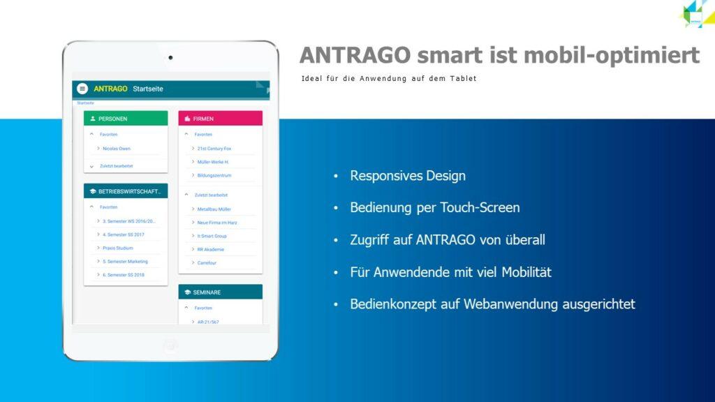 antrago smart mobil optimiert